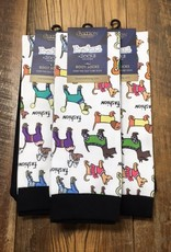 Ovation Ovation Footzees Boot Socks Fashion Dogs