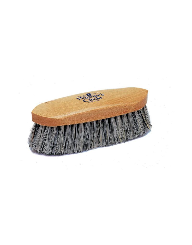 """Hill Brush 8 1/4"""" Grey English Union Champion Dandy Brush"""