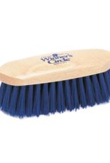 Hill Brush 7 ½'' Stiff Navy Polypropylene Champion Dandy Brush