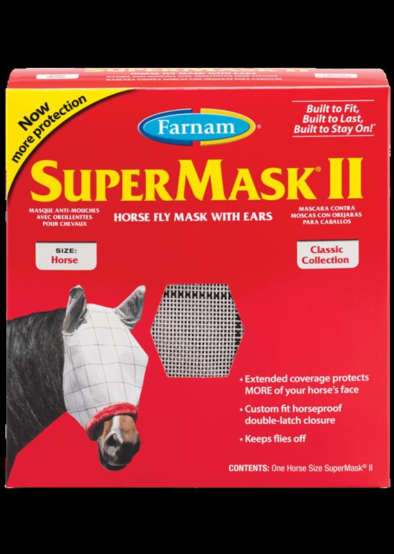 Farnam SuperMask II Fly Mask with Ears
