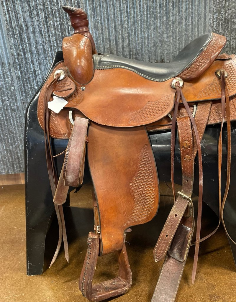 "Consignment Saddle #364 Dakota Western 19"""