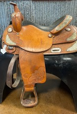 """Consignment Saddle #354 Hereford TexTan Pleasure 16"""""""