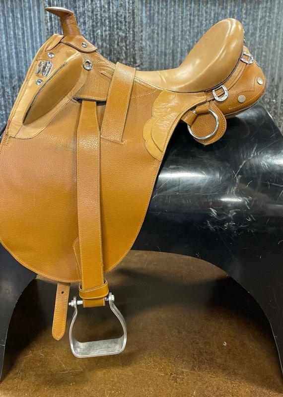 "Consignment Saddle #341 Australian 15"" Deep Seat"