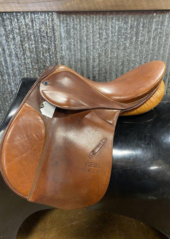 "Consignment Saddle #184 Stubben Roxanne 16.5"""