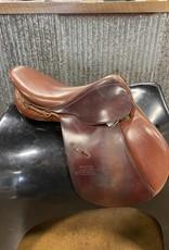 "Consignment Saddle #392 Stubben 17"""