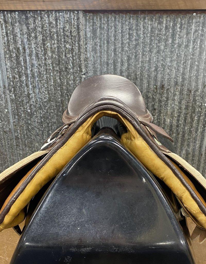 "Consignment Saddle #375  Older Hunt Saddle 16"""