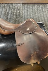 Consignment Saddle #141 County 16.5 Med-Narrow Tree
