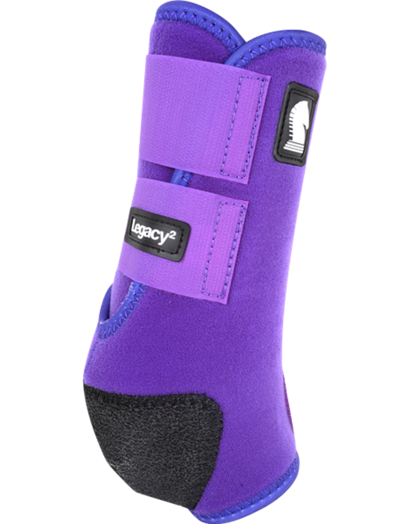 Classic Equine Classic Equine Legacy2 Protective Boots (Front) Purple M