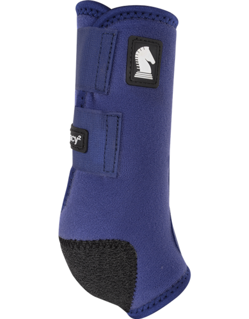 Classic Equine Classic Equine Legacy2 Protective Boots (Front) Navy Blue L