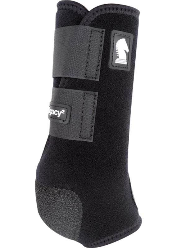 Classic Equine Classic Equine Legacy2 Protective Boots (Front) Black L