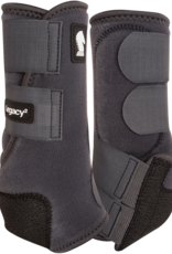 Classic Equine Classic Equine Legacy2 Protective Boots (Hind) Charcoal L
