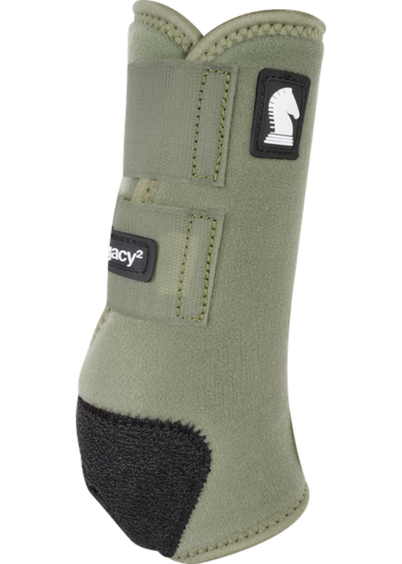 Classic Equine Classic Equine Legacy2 Protective Boots (Hind) Olive L