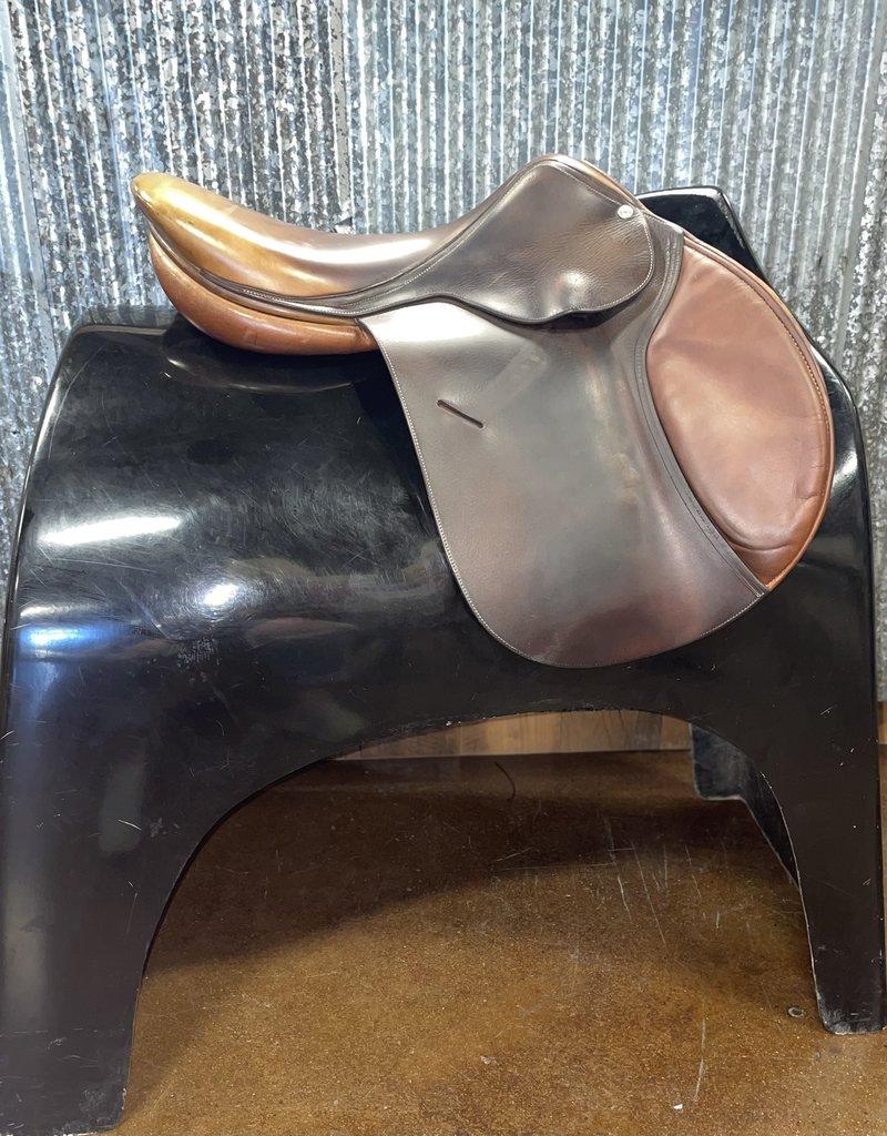 """Consignment Saddle 387 Butet """"P"""" 17.5"""