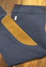 The Tailored Sportsman The Tailored Sportsman Trophy Hunter Women's Lowrise Breech French Blue/Tan
