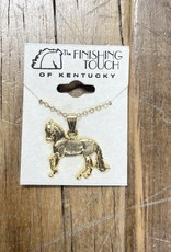 The Finishing Touch Of Kentucky Gold Paso Fino Necklace