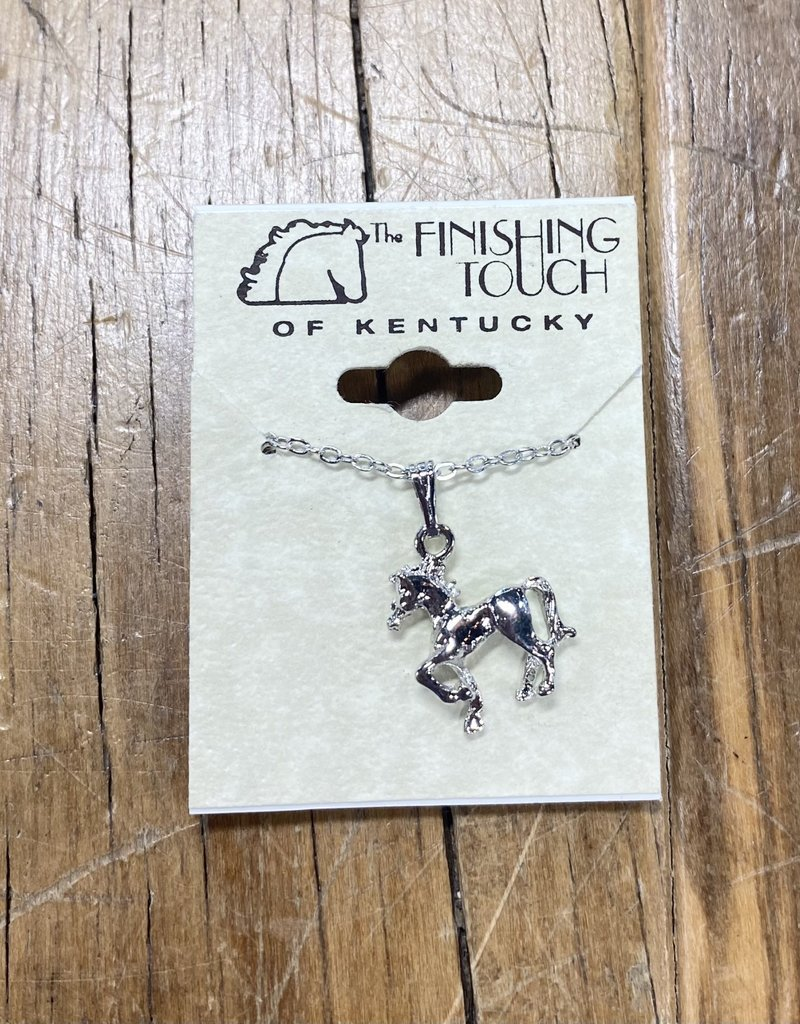 The Finishing Touch Of Kentucky Prancing Foal Necklace