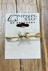 The Finishing Touch Of Kentucky Gold Trotting Small Stock Pin