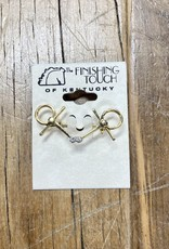 The Finishing Touch Of Kentucky Gold Bent Snaffle Bit Small Stock Pin