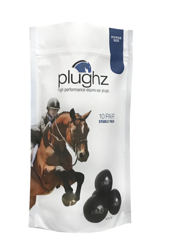 Plughz Plughz 10  Pair Stable Pack Horse Ear Plugs