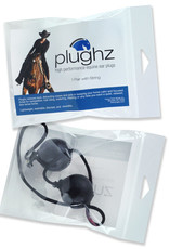 Plughz Plughz One Pair Horse Size Ear Plugs with Cord