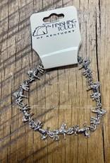 The Finishing Touch Of Kentucky Mini Silver Saddlebred Bracelet