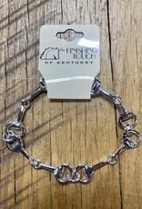 The Finishing Touch Of Kentucky Fine Silver Snaffle Bit Bracelet