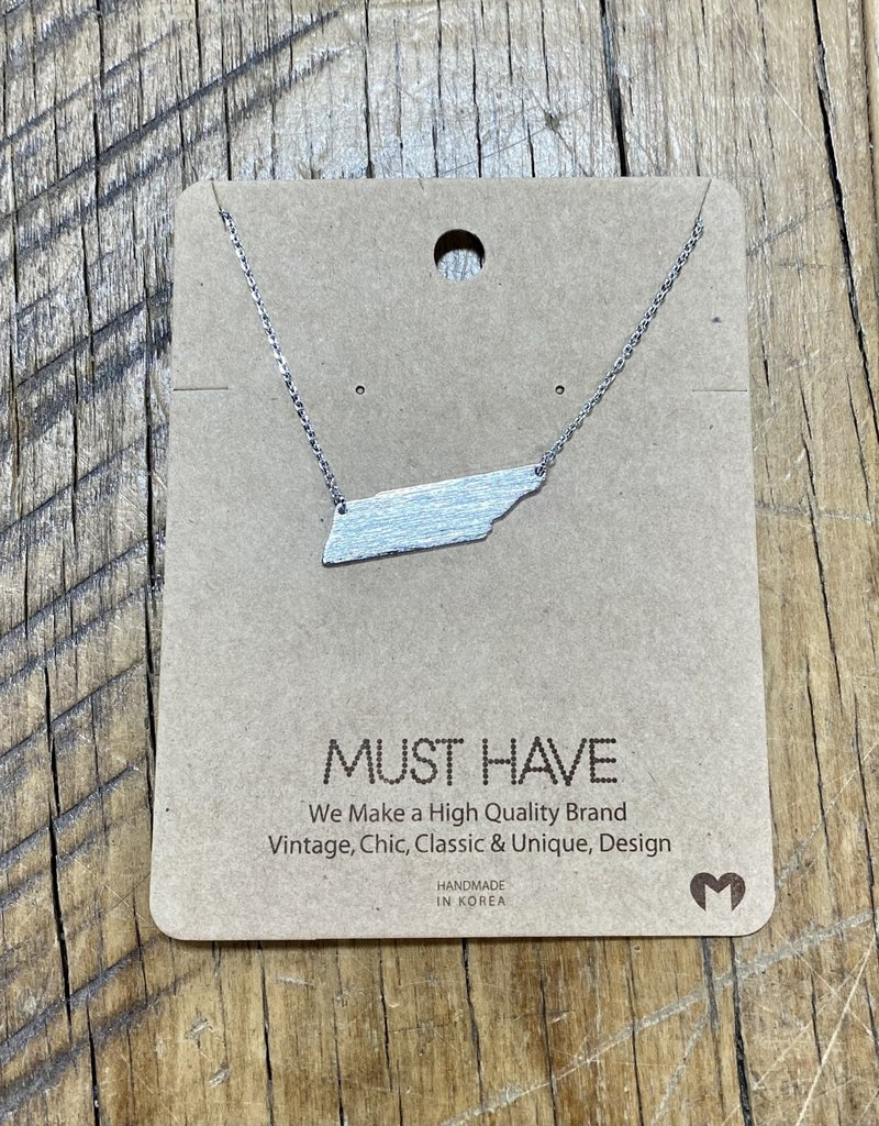 Silver Tennessee Necklace
