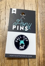 Hunt Seat Paper Co. Fall Off Pin