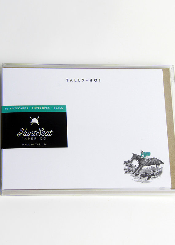 Hunt Seat Paper Co. Tally Ho! Notecards
