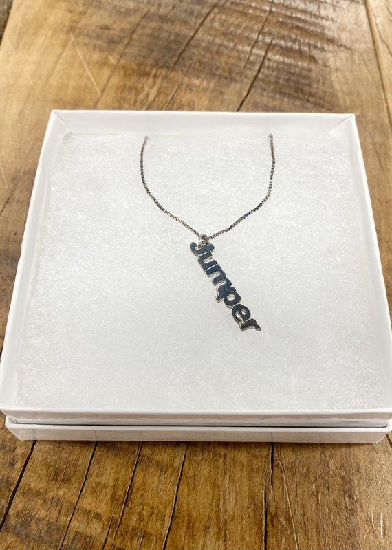 Word Jumper Necklace