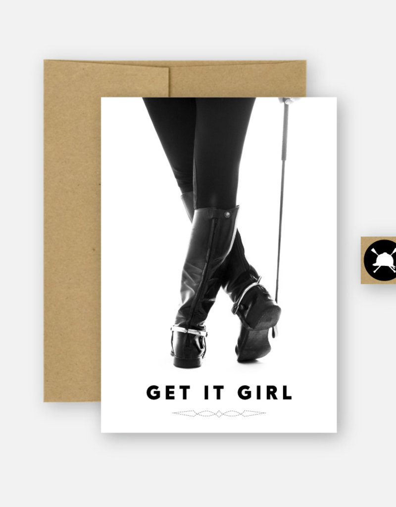 Hunt Seat Paper Co. Get It Girl Card