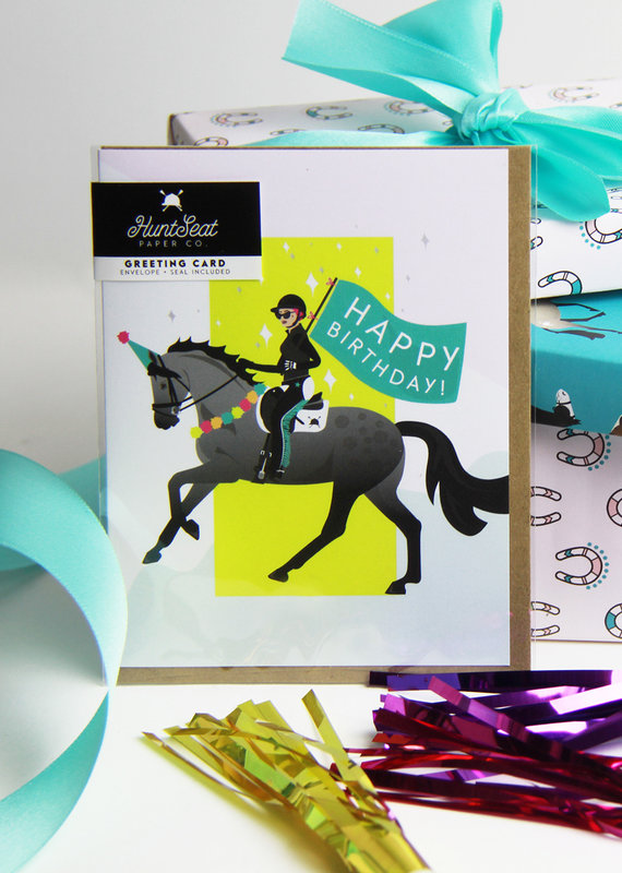 Hunt Seat Paper Co. Birthday Parade Card