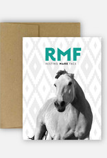 Hunt Seat Paper Co. Resting Mare Face Card