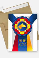 Horse Show Mom Card