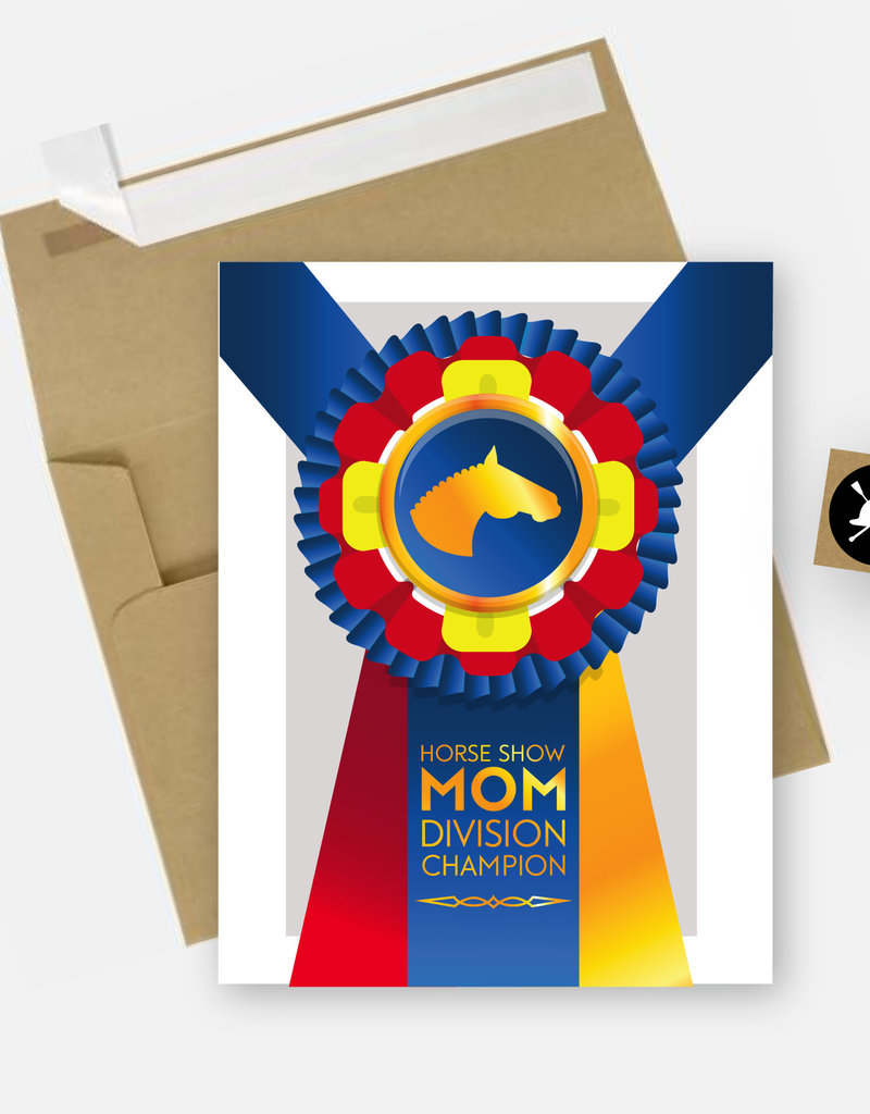 Hunt Seat Paper Co. Horse Show Mom Card
