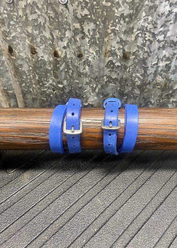 Nunn Finer Blue Easiest Spur Straps