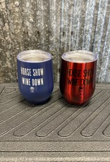 """Spiced Equestrian Spiced Equestrian """"Horse Show Wine Down"""" Insulated Wine Cup"""