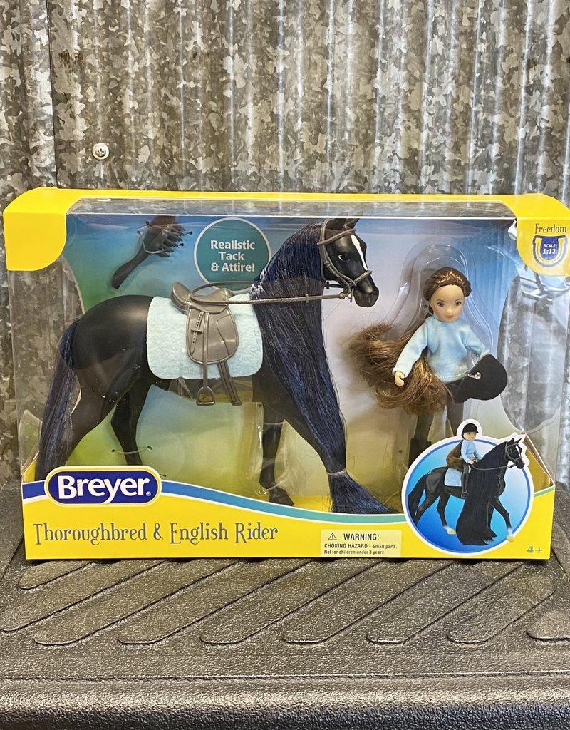 Breyer Breyer Thoroughbred and English Rider