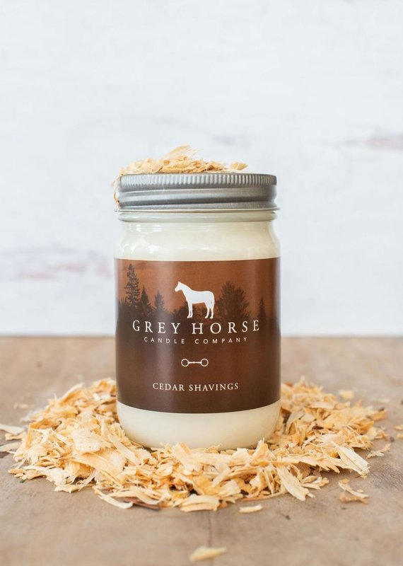 Grey Horse Candle Co Grey Horse Candle 'Cedar Shavings' Candle