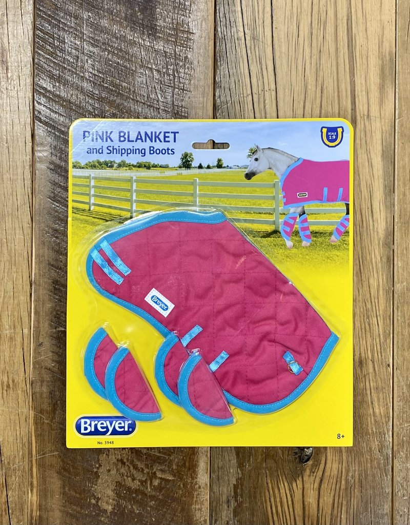 Breyer Breyer Pink Blanket and Shipping Boots