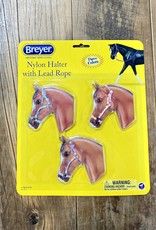 Breyer Breyer Nylon Halter 3 Piece Set