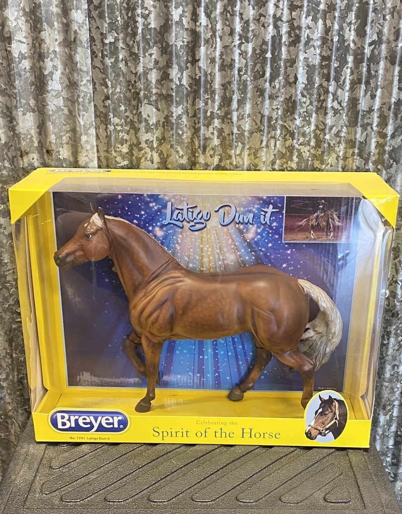 "Breyer Breyer Latigo Dun It ""Hollywood"""