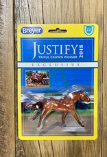 Breyer Breyer Justify Stablemates Display