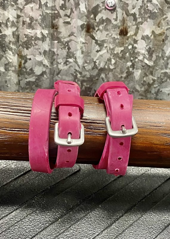 Nunn Finer Pink Easiest Spur Straps