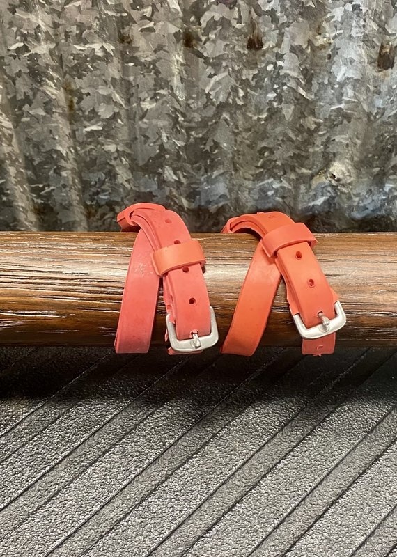 Nunn Finer Red Easiest Spur Straps