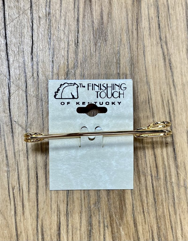 The Finishing Touch Of Kentucky Large Gold  Stock Pin