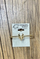 The Finishing Touch Of Kentucky Gold Fox Masks Stock Pin