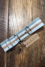 "Ellany Equestrian Ellany Karina 2"" Gold Snaffle Elastic Belt"