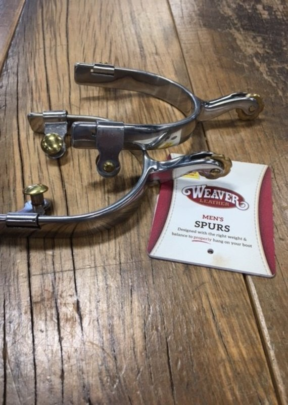 "Weaver Leather Weaver Men's Roping Spur 5/8"" Band"