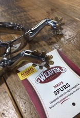 Weaver Leather Weaver Men's Plain Stainless Steel Spurs